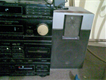 Sony Deck with speakers original japan