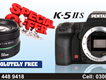 k-5 ii S with 50mm