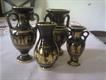 24k gold platted pottery set