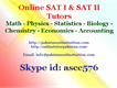 Online SAT I and SAT II Tutors Pakistan