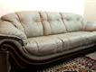 six seater pure leather sofa