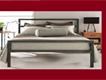 Haroon Furnitures offers durable quality good looking iron steel beds sets