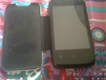 Q mobile noir A30 with flip cover for free