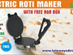 Travlers Use Roti Maker Machine