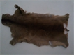 Genuine stuffed deer skin.