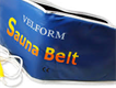 a slim and smart fitness sauna belt