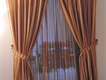 Curtains for immediate sale.