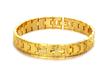 Gold platted imported bracelet
