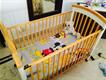 original baby shop junior cot in excellent condition