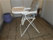 baby dining seat foldable in excellent almost brand new condition