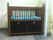 Baby Cot made with Solid Wood