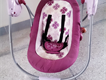 Easy to fold automatic musical baby swing - battery operated