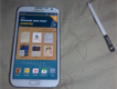 Samsung Galaxy Note II Marble white