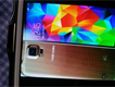 Samsung galaxy s5 android copper gold