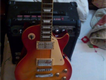 American lespaul sunbrust electric guitar with line6-15 watts amp