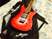Jackson electric Guitar Copy. Candy Red coloured