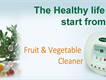 Fruit and vegetable cleaner  Ozone