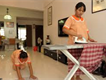 Domestic servants available -