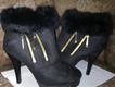 Short heel long shoes