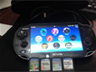 Sony VIta 3g Wifi with four game card excellent conditon
