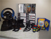 playstation 2 with steering system